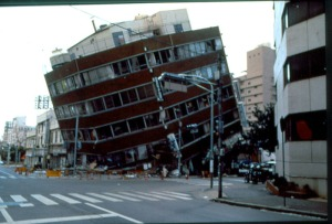 Building, downtown Kobe 1995